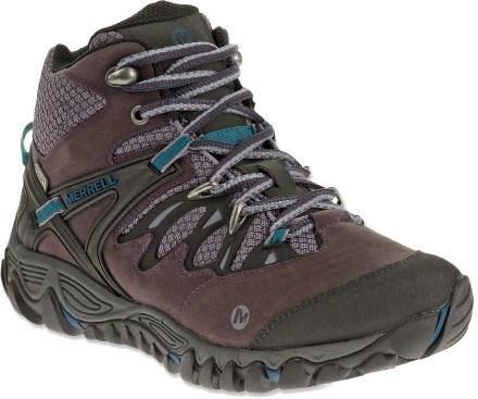 Merrell All Out Blaze Mid Waterproof Hiking Boots Women
