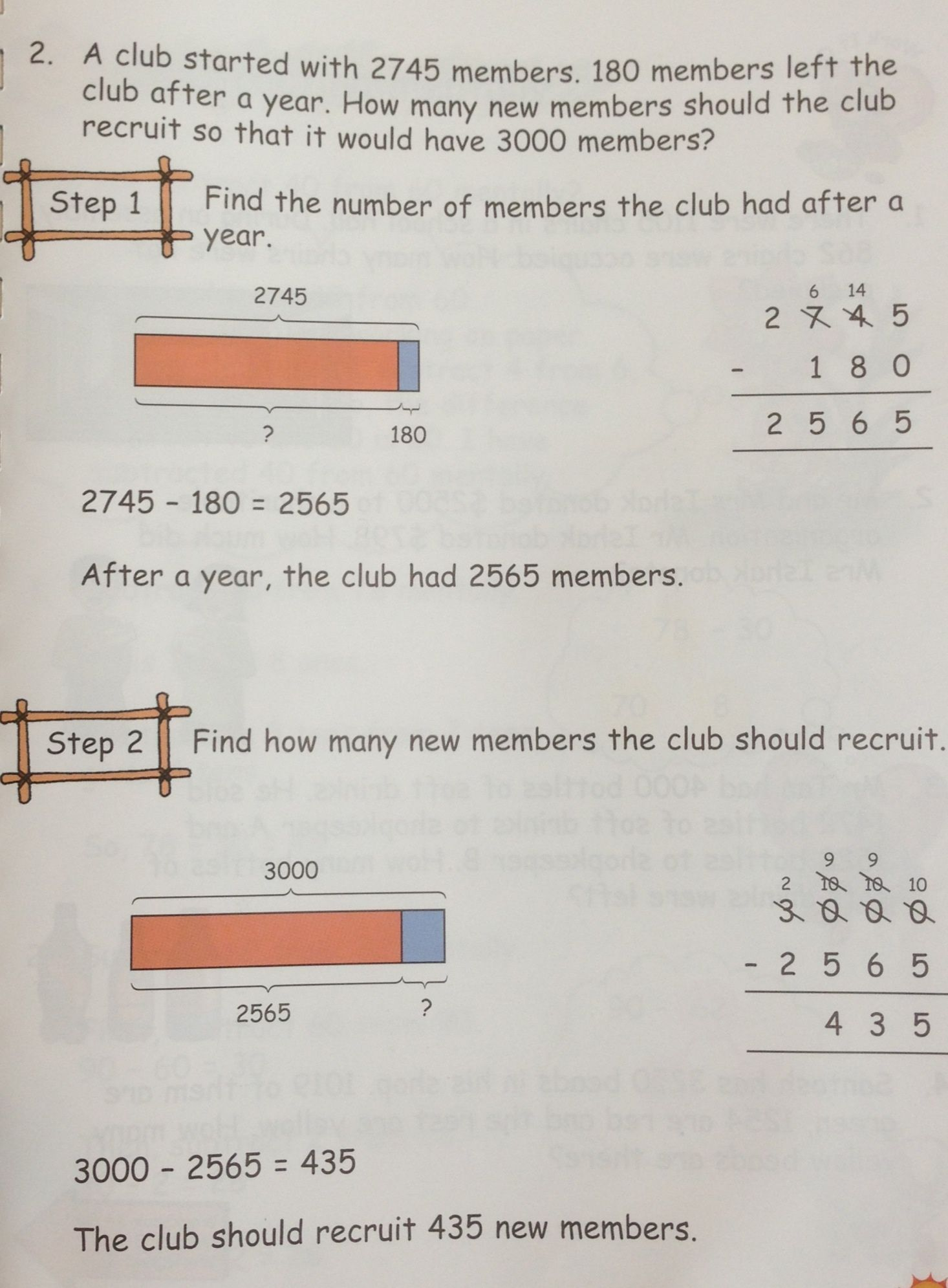 Another grade 3 word problem on Subtraction. #Singapore #math ...