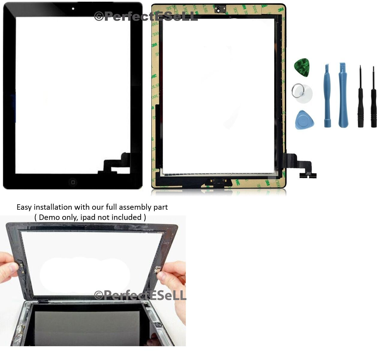 Other Tablet and eBook Accs 176982: New Touch Screen Glass