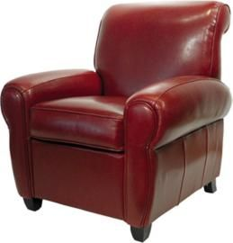 Red Leather Reclining Chair recliner club chair | recliner, leather club chairs and blog