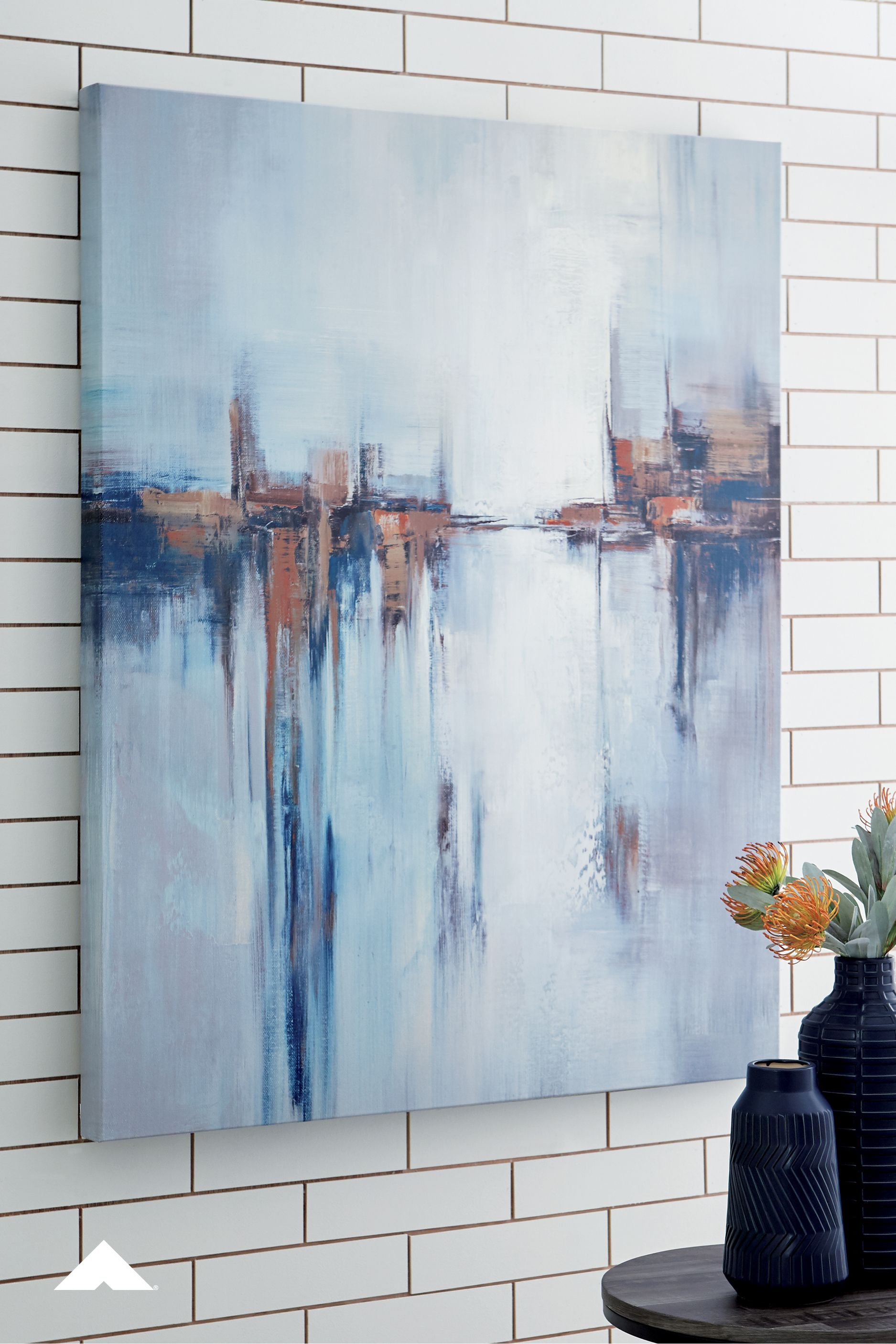 Magnificent Braylin Multi Wall Art From Ashley Furniture Abstract Home Remodeling Inspirations Gresiscottssportslandcom