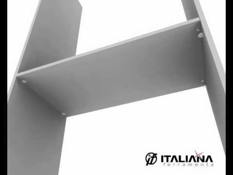 MAORI Shelf Support - Italiaanse ijzerhandel  MAORI Shelf Support – Italiaanse...
