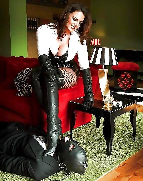 Husband has boot fetish
