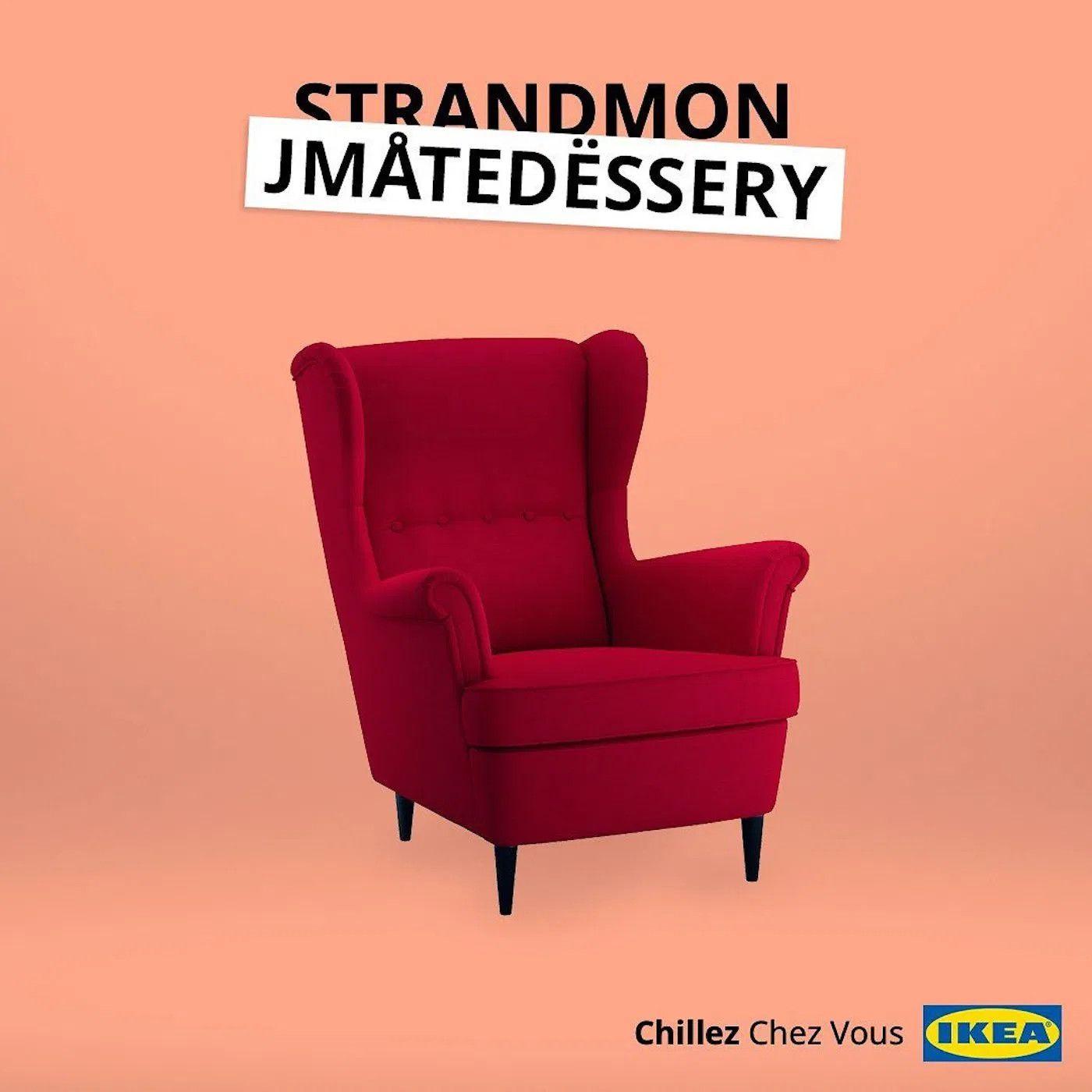 Ikea Vous Propose De Renommer Son Mobilier En Mode Special Confinement Planete Deco A Homes World En 2020 Ikea Mobilier De Salon Mobilier