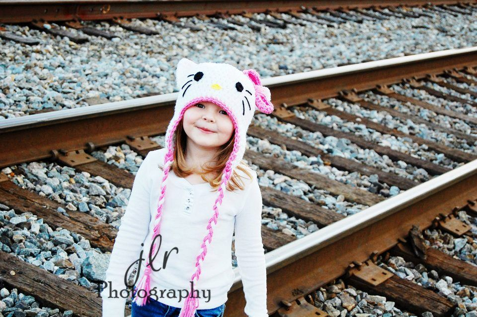 my very popular Hello Kitty hat.  photo from JLR Photography