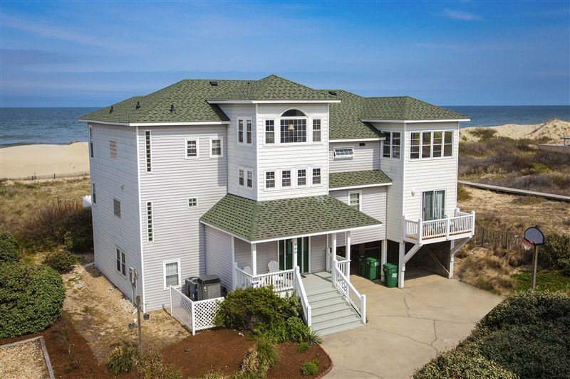 Casa De Playa 382 L Corolla Nc Outer Banks Vacation Rental Home L Oceanfront Home With Six