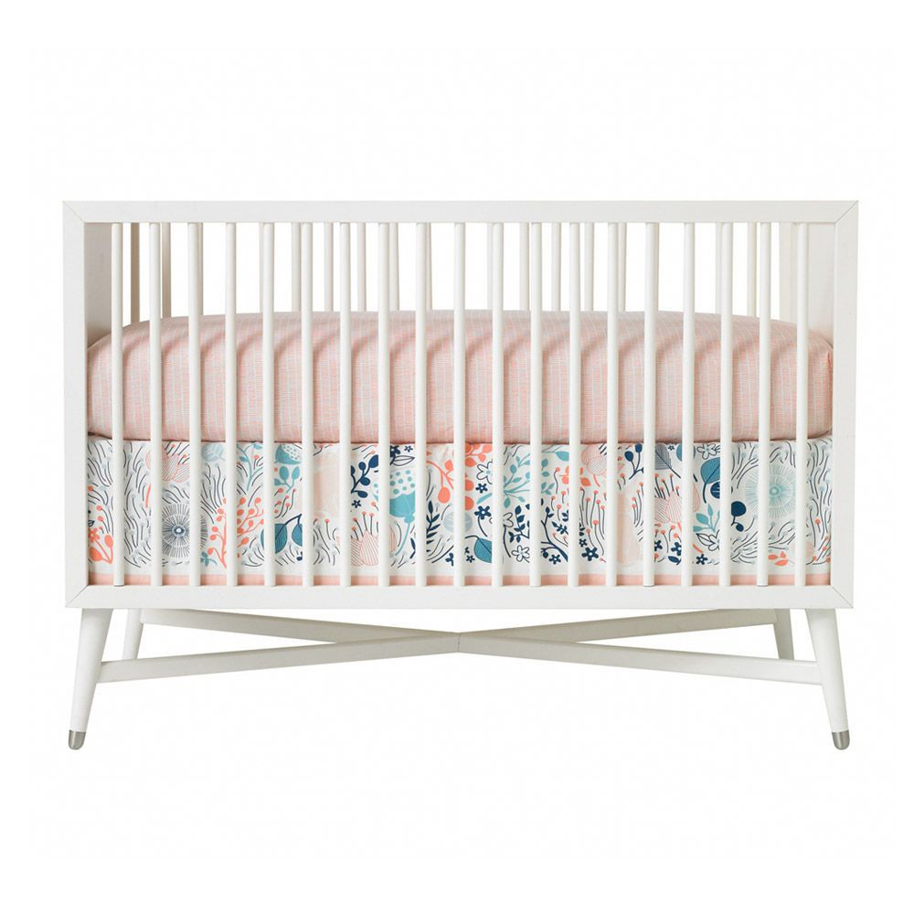 Dwellstudio Crib Skirt Meadow Modern Nursery Bedding Cribs