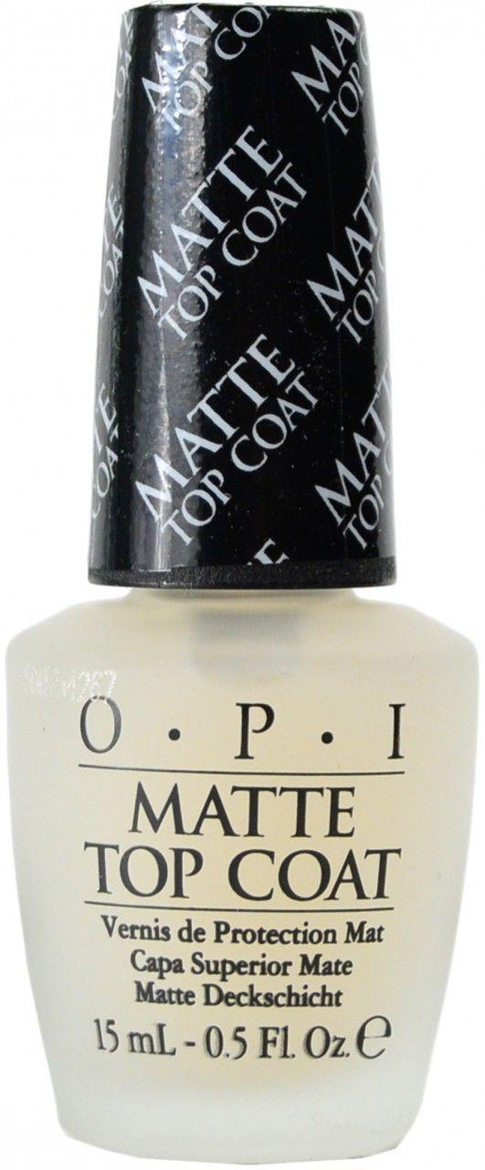 Matte top coat by OPI on Nail Polish Canada | Nail art wish list ...