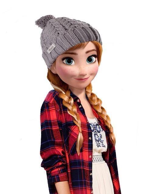 foto de Anna version 2015 Princesse disney swag Princesse
