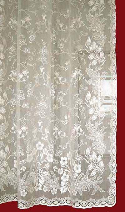 Lace Curtains Cotton