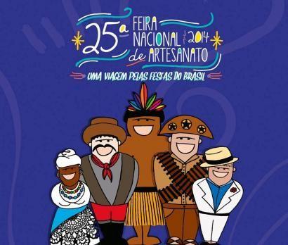 Artesãs do Tocantins participam de 25ª Feira Nacional de Artesanato em Belo Horizonte