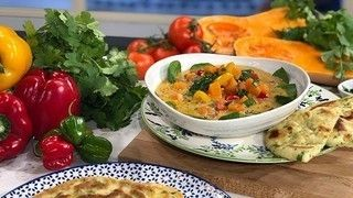 Ainsley's chunky vegetable pepper pot soup (With images ...