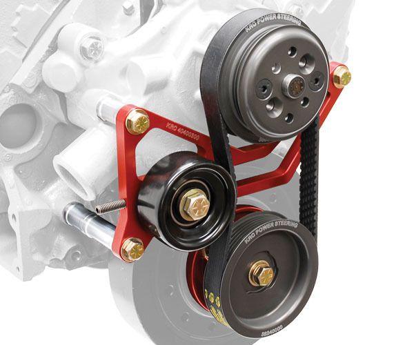 Krc Power Steering 37451000 Pro Series Chevy Serpentine Pulley Kit 1 1 Pulley Chevy Serpentine