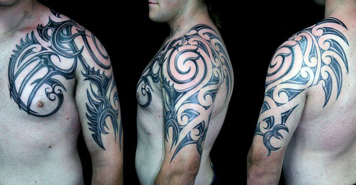 Maori Tribal - By Peter Bauer #inkdoneright #tattoo #tattoos #inked #art #tattooed #freestyle #freehand