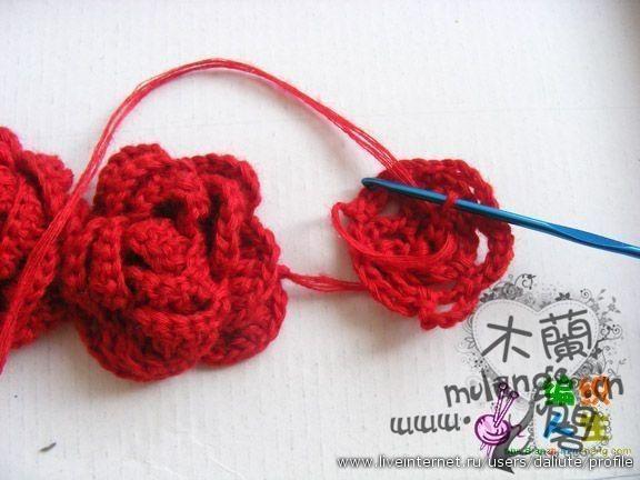 Outstanding Crochet: Chinese Roses. Pattern.   Crochet   Pinterest