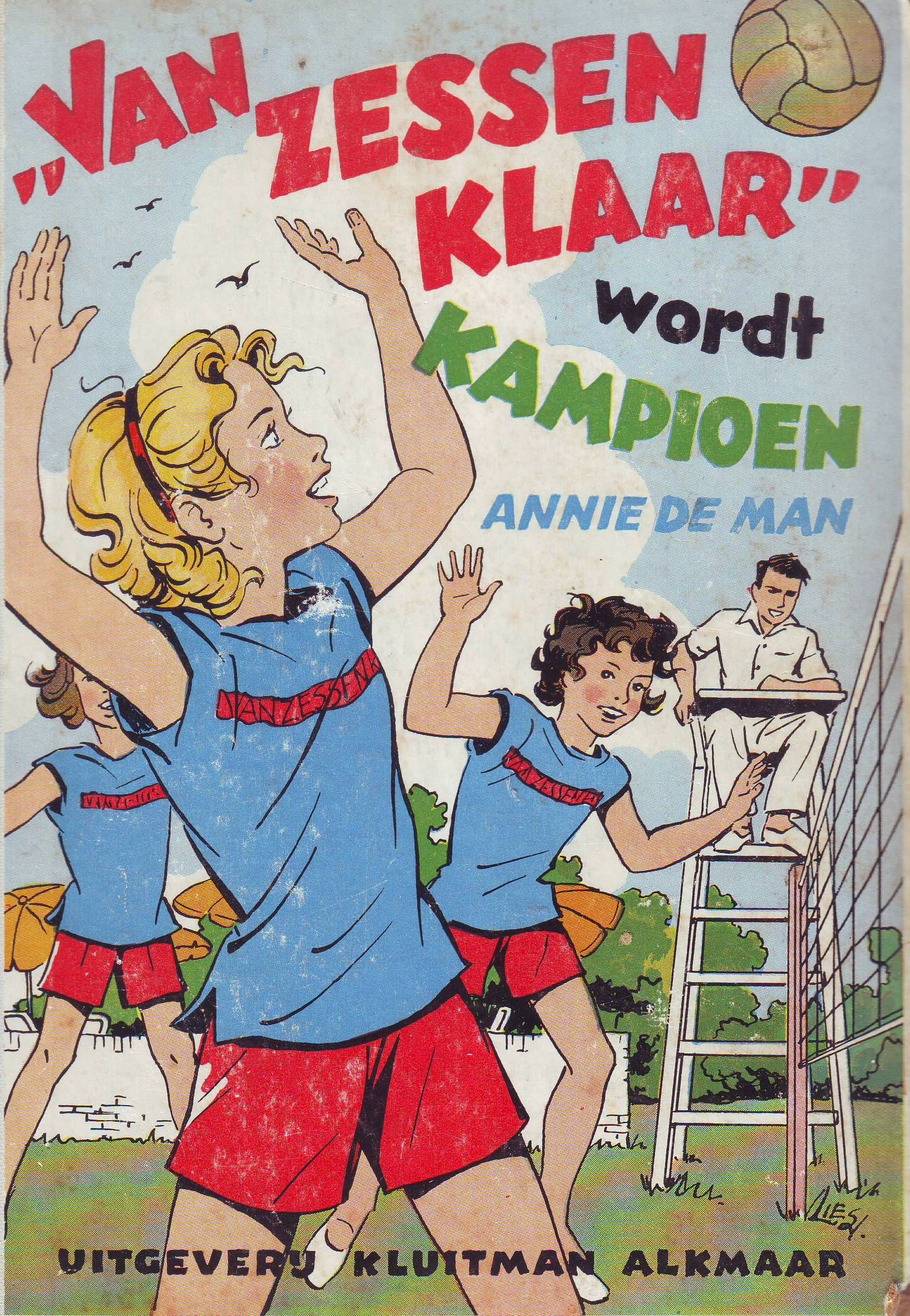 Van Zessen Klaar Wordt Kampioen Kinderboeken Boeken En