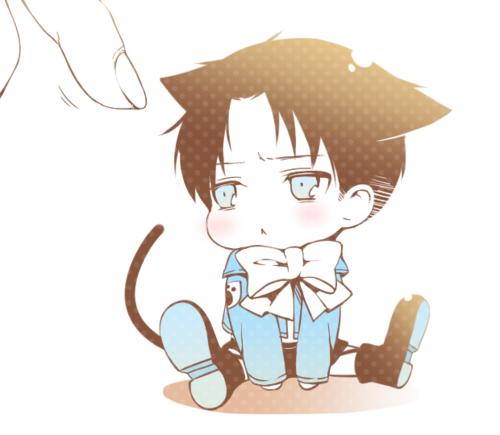 Chibi Kitty Levi