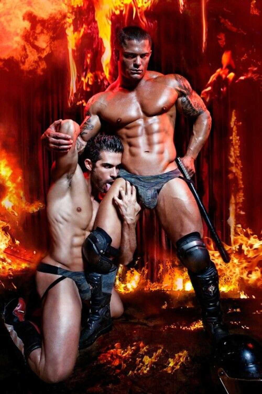 порно про пожарных