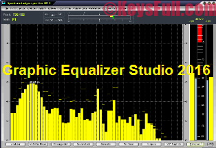 Graphic Equalizer Studio 2016 Crack + Serial + Keygen
