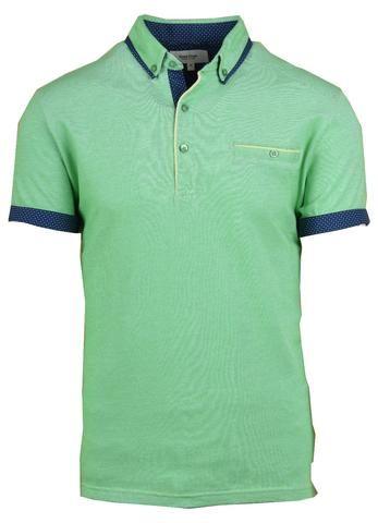 05 608 polo shirt hidden button down collar semi classic for Hidden button down collar shirts