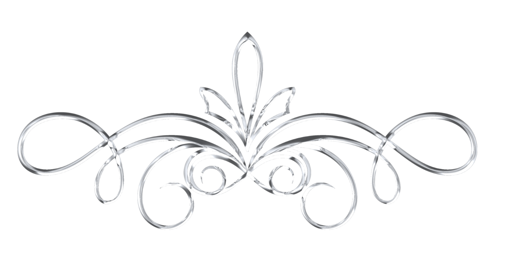 Scrollwork 1 Silver By Victorian Lady Victorian Lady Transparent Background Silver