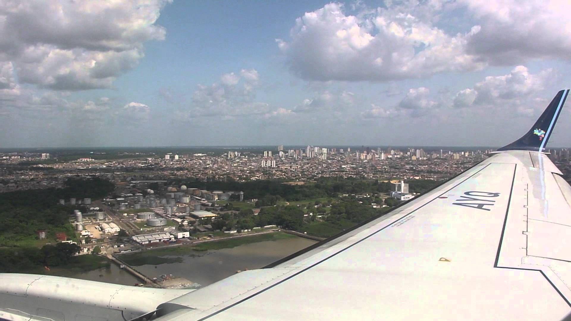 Aeroporto Vix : Pouso aeroporto belém emb azul lugares para visitar