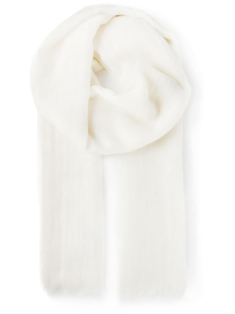 Shop Agnona fringed scarf in Stefania Mode from the world's best independent boutiques at farfetch.com. Shop 300 boutiques at one address.