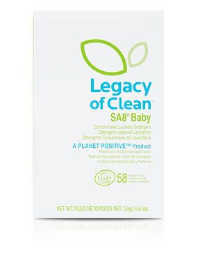 Legacy Of Clean Sa8 Baby Concentrated Detergent High