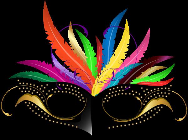 Carnival Mask PNG Transparent Clip Art Image
