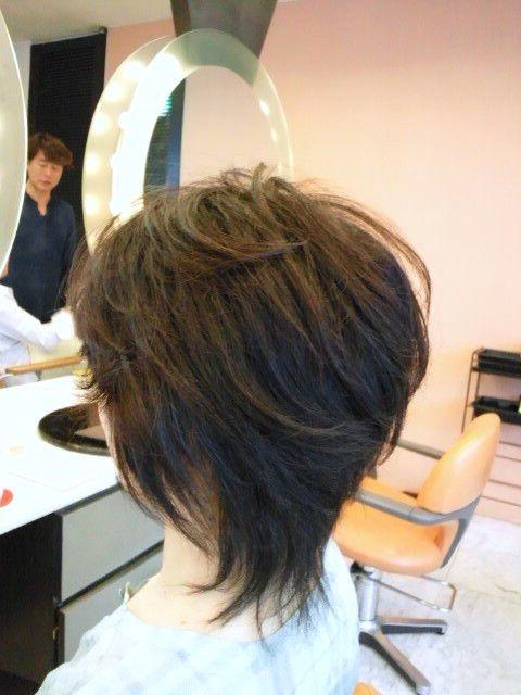 40代 50代 60代ヘアスタイル ショート の画像 表参道 青山 美容