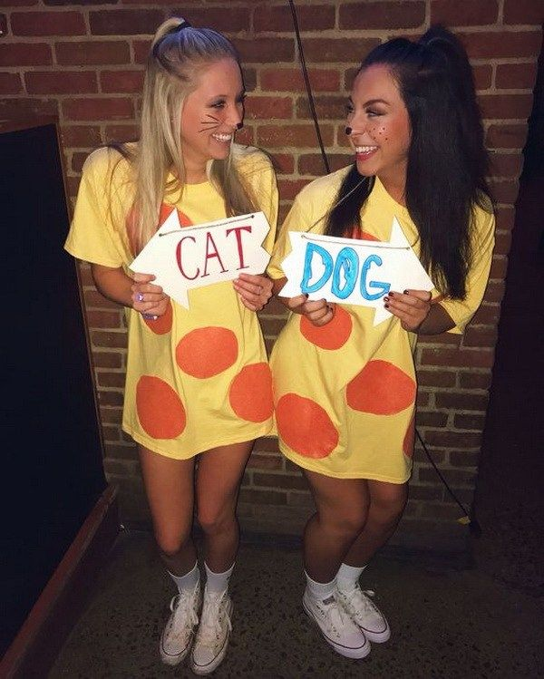 Cat dog costumes halloween pinterest cat dog costume friend cat dog costumes college halloween and like omg get some yourself some pawtastic adorable cat apparel solutioingenieria Choice Image