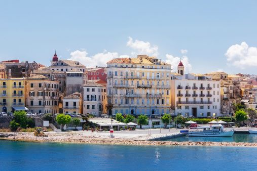 Corfu, a northern Ionian island, is a mixture of simplicity and sophistication and has something for every taste.