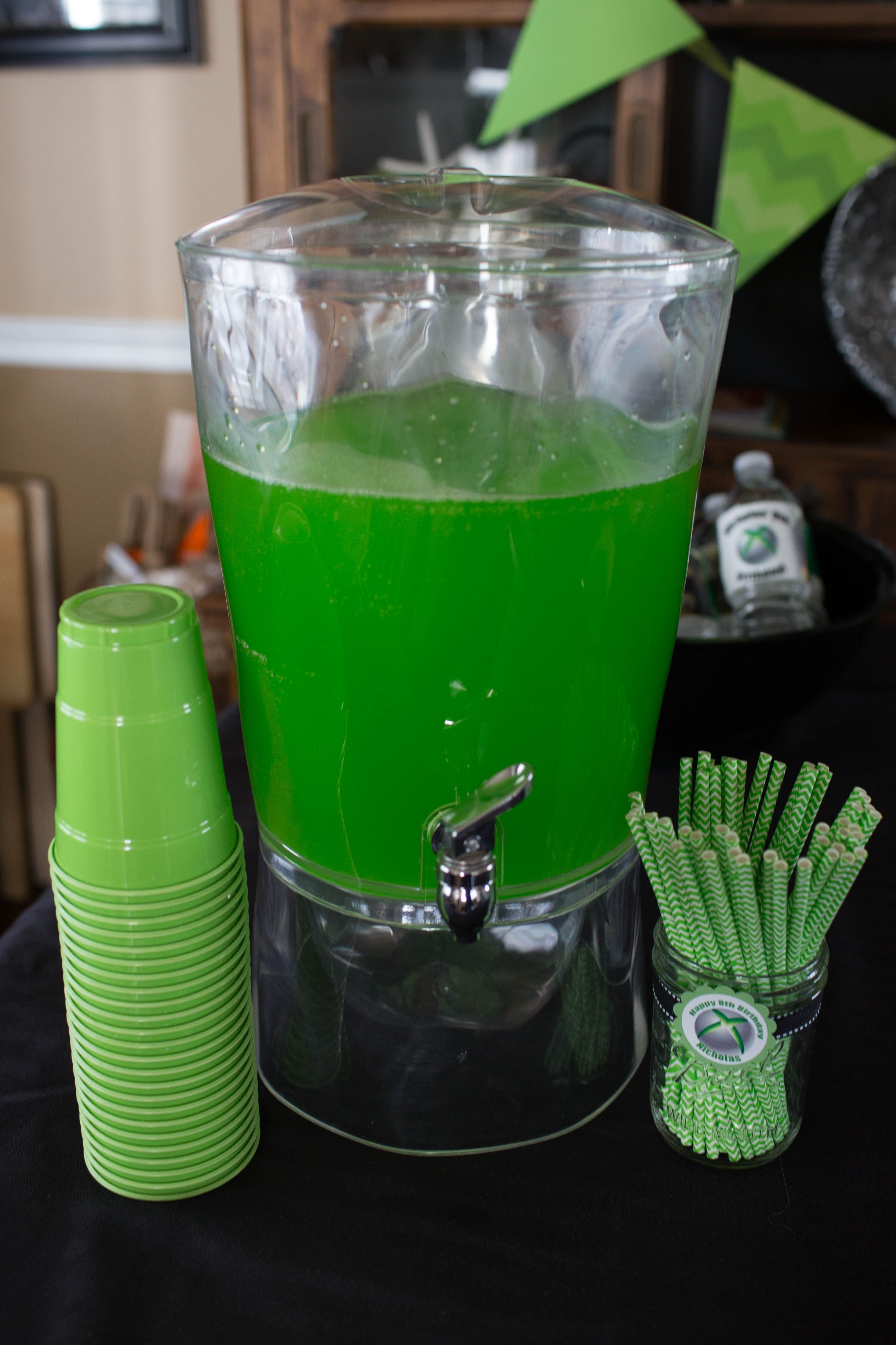 Xbox Party Sweet Green HI C Punch