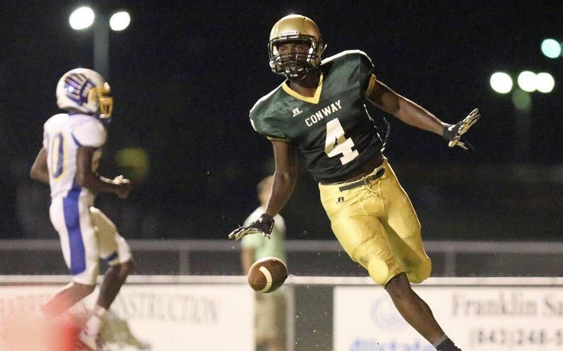 Conway football star edwards from south carolina