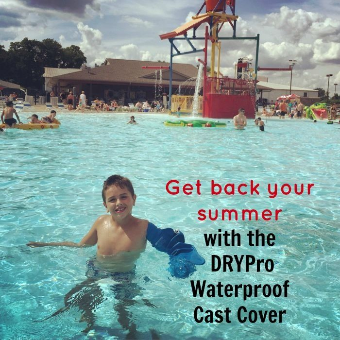 Get Back Your Summer With The Drypro Waterproof Cast Cover My Life