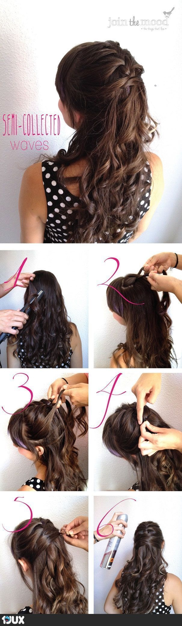 Very easy hairstyle pentinats pinterest easy hairstyles hair