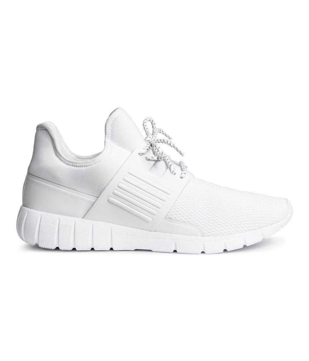 Sneaker aus Mesh | Weiß | Herren | H&M DE | Wish List
