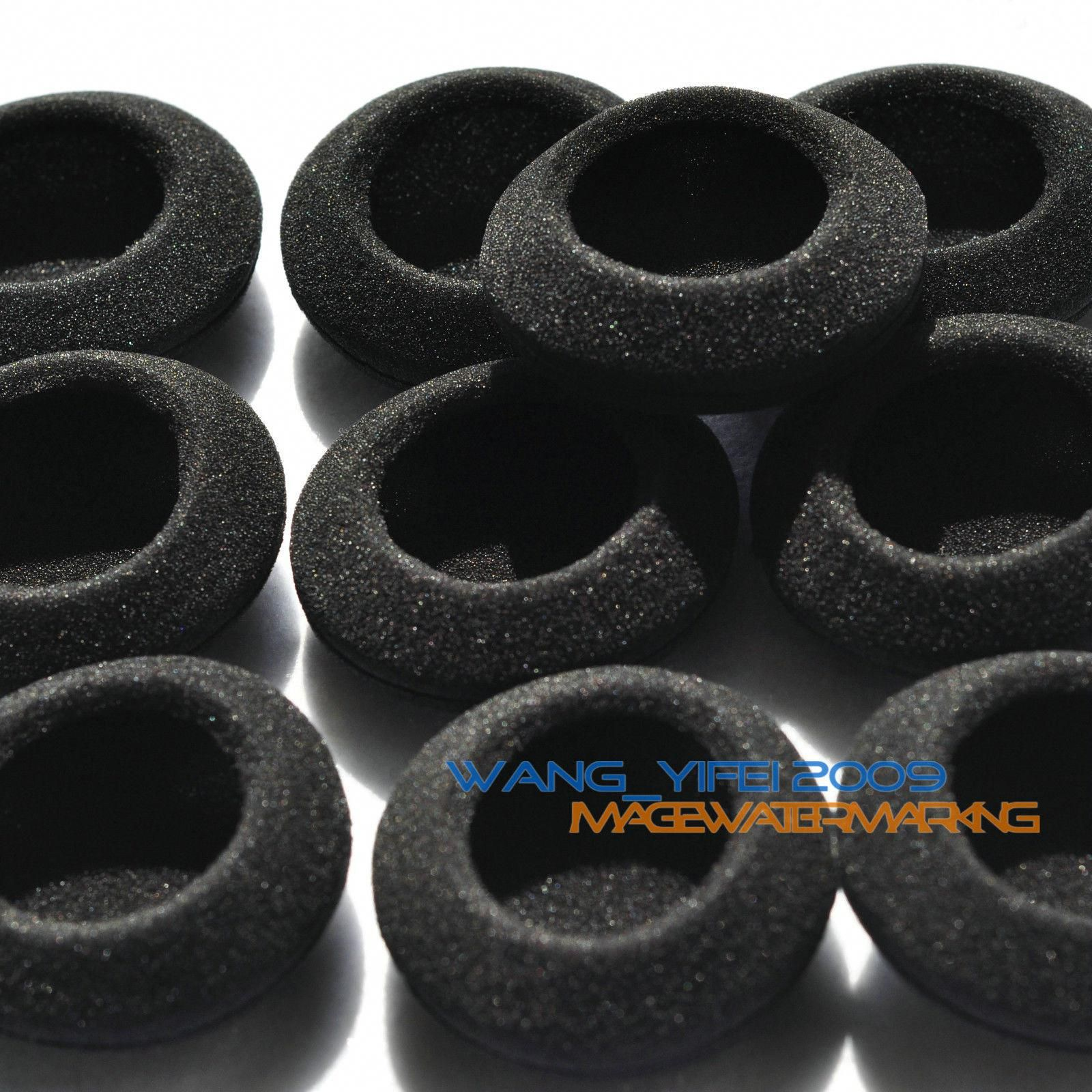 """10pcs 50mm Replacement Ear Pad Cushion Headphone Cover for Earphone Headset 2/"""""""