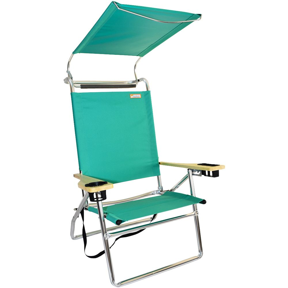 Canopy HiSeat Aluminum Beach Chair Mint Green -- Check out the image by visiting the link.  sc 1 st  Pinterest & folding beach chair?high quality beach chair buyer | Cheap Beach ...