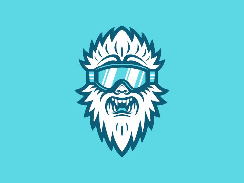 Yeti Wip Logo Design Art Yeti Logo Sports Logo Design