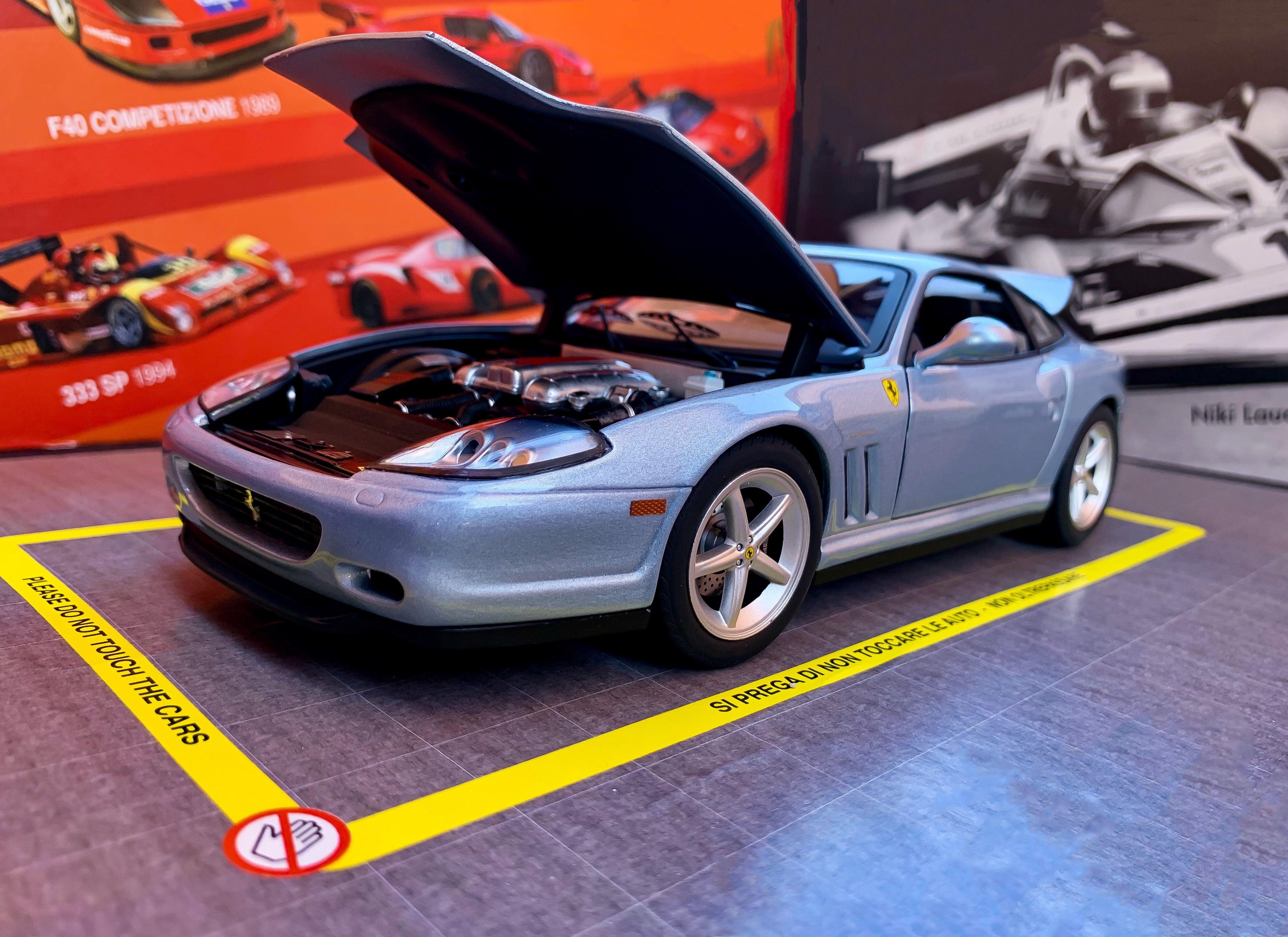 Ferrari 575 M Maranello Bad Boys 2 By Hw Elite 1 18