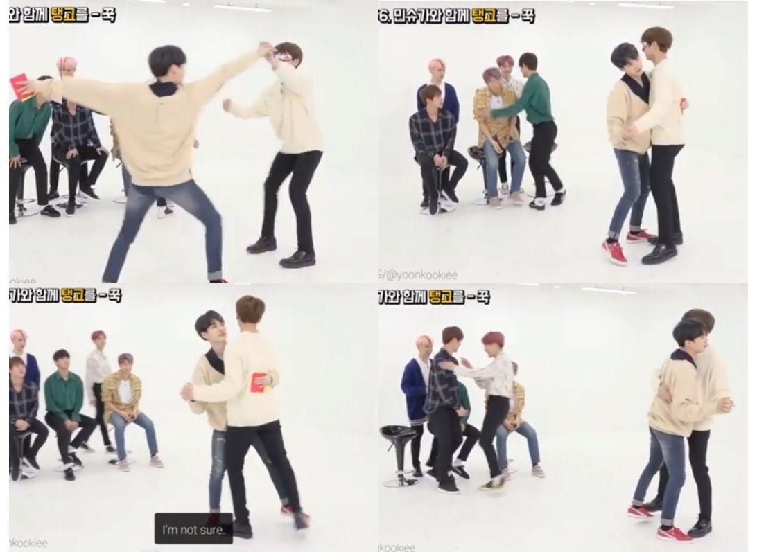 Suga and Jungkook dancing together | Jungkook and Suga | Run bts