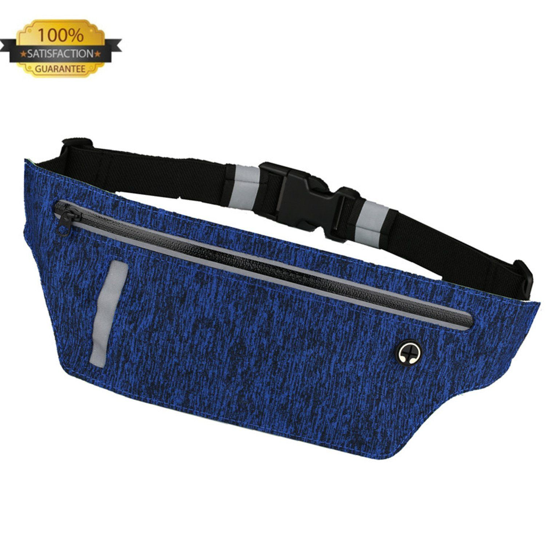 b72e572cc318 Running Belt Waist Pack - EvaTech Ultra Slim Runners Belt Waterproof ...