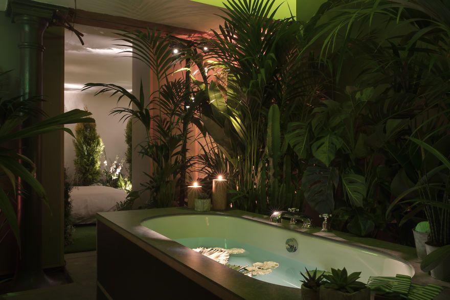 Airbnb And Pantone Create Tuin Slaapkamer Pantone House