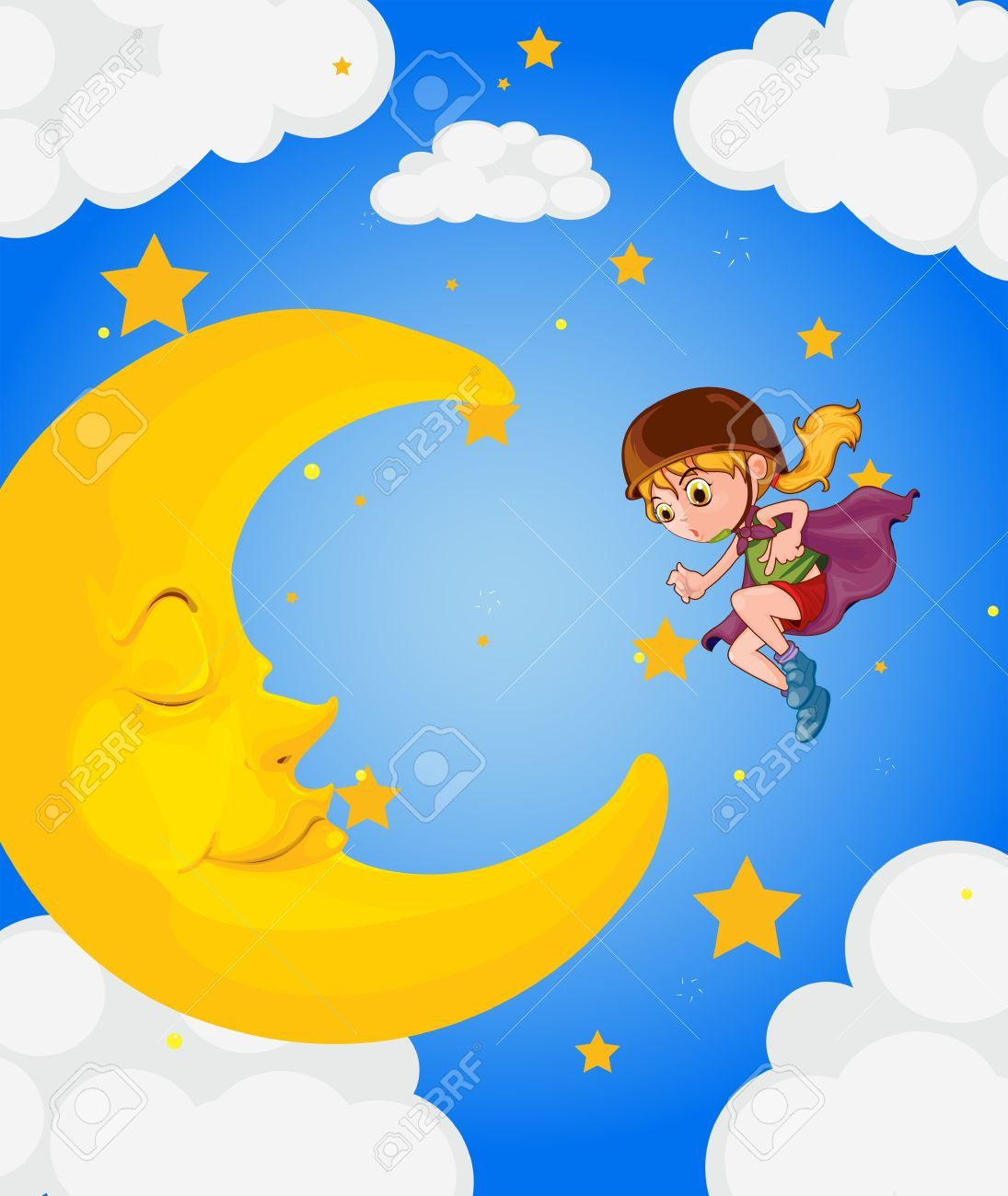 moon clipart cliparts stock vector and royalty free moon