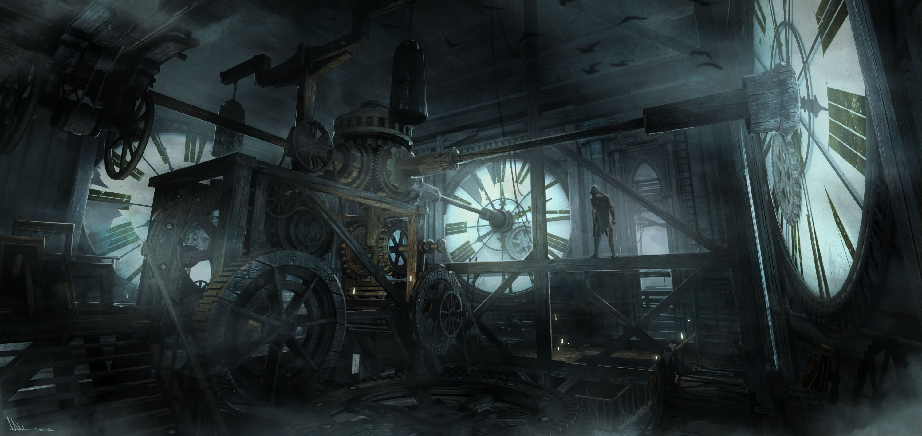 Thief Debut Screenshots, Behind The Scenes
