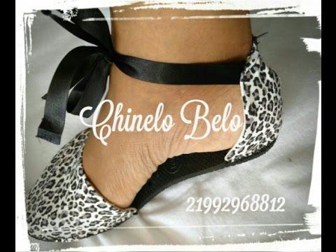 a8ef71ac36 DIY - Como fazer sandálias de chinelos de borracha - Magna Dias - YouTube