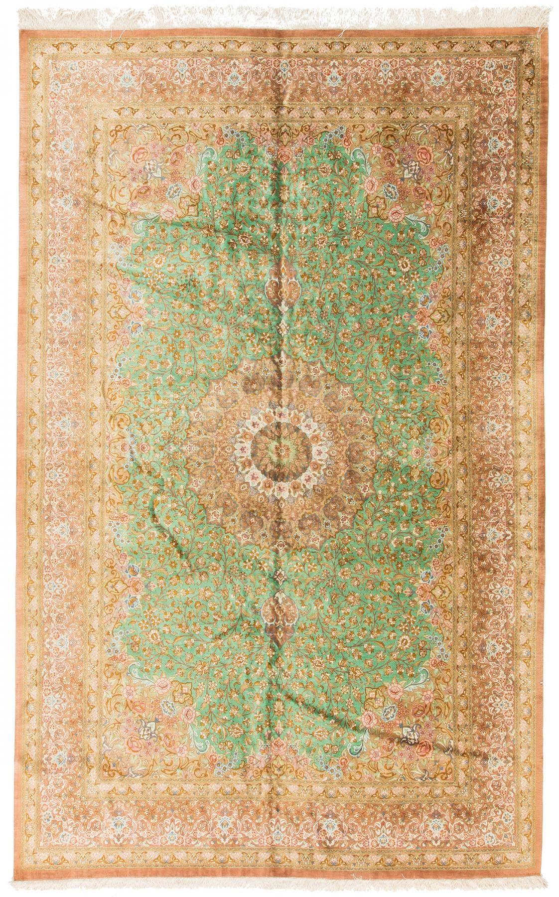 Rug Pf166406 Persian Qum Persian Classics Area Rugs By Safavieh Green Rug Persian Carpet Rugs
