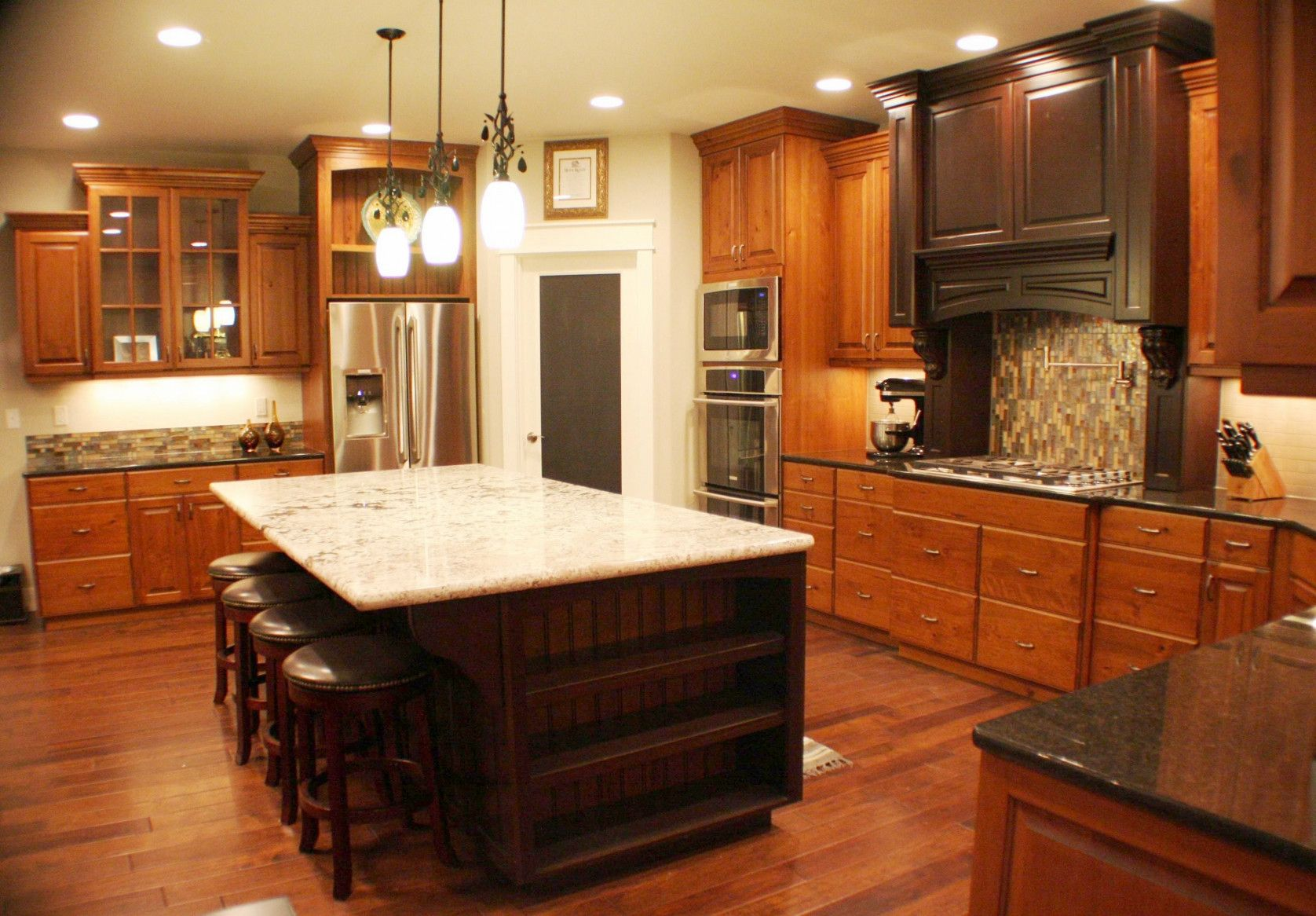 70 Kitchen Cabinets Springfield Mo Kitchen Island Countertop Ideas Check More A Shaker Style Kitchen Cabinets Kitchen Cabinet Styles Cherry Cabinets Kitchen