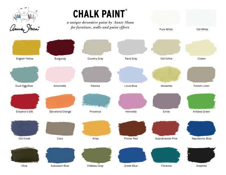 See The Cur Annie Sloan Decorative Chalk Paint Colors And Learn More About What That Covers It Does With This Fun Product Line